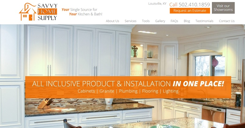 Louisville Kitchen And Bath Remodeling Company Savvy Home Supply With Two Area Showrooms