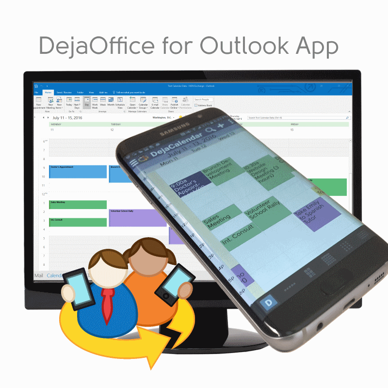 Calendar App For Pc : Dejaoffice for outlook app powers samsung galaxy s edge